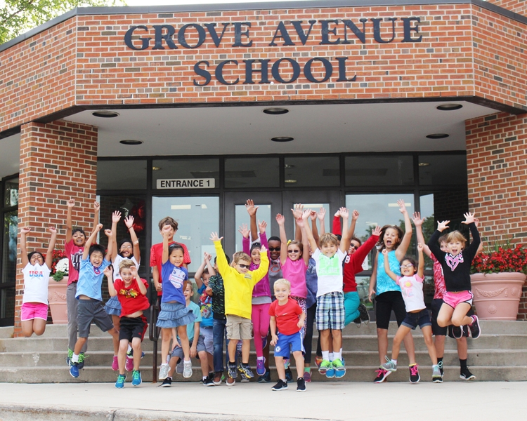 Grove Avenue students are enthusiastic about learning!