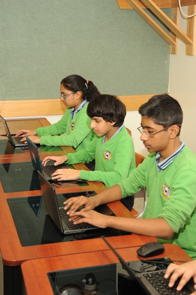 Students enjoy one-to-one technology program at CJCP.