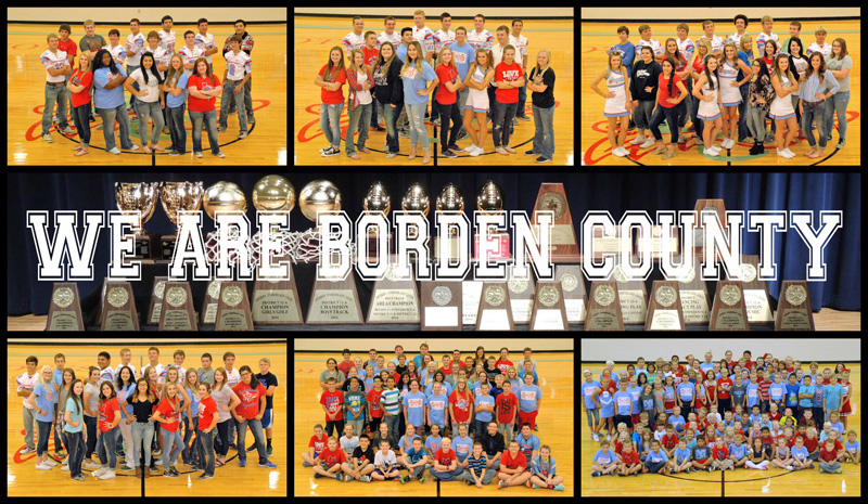 Borden County Student Images and Trophies Won Last Year