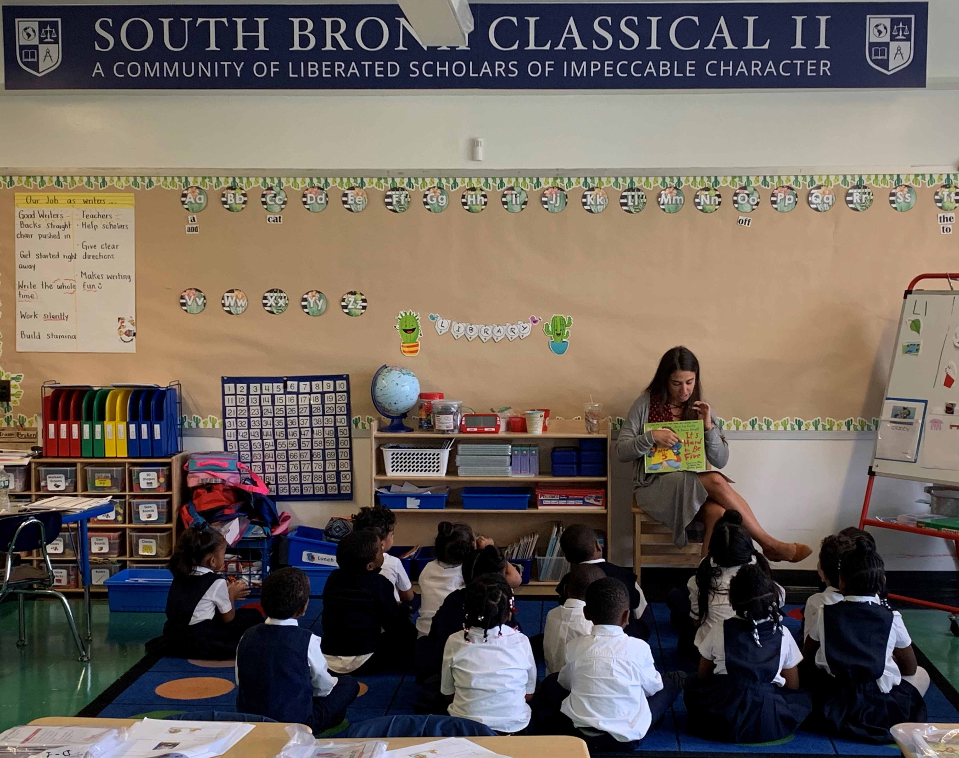 south bronx classical charter school