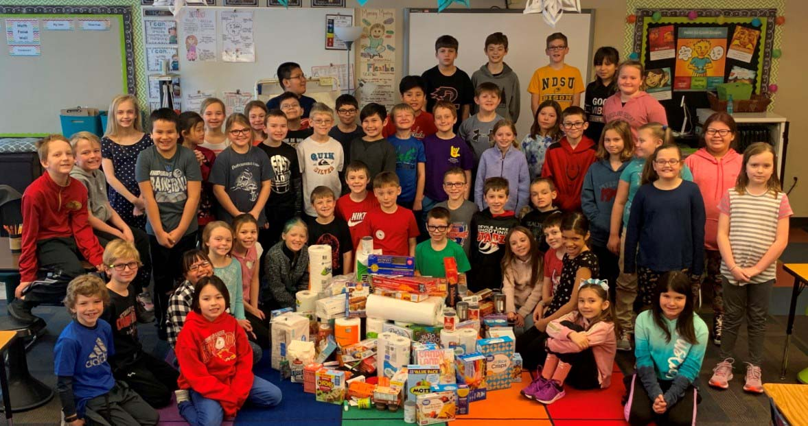 Community Service - Collecting Items and Donating to the Community Shelter